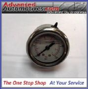 Sytec Fuel Pressure Gauge 1/8npt For FSE Power Boost Valves MSV  SAR Regulators